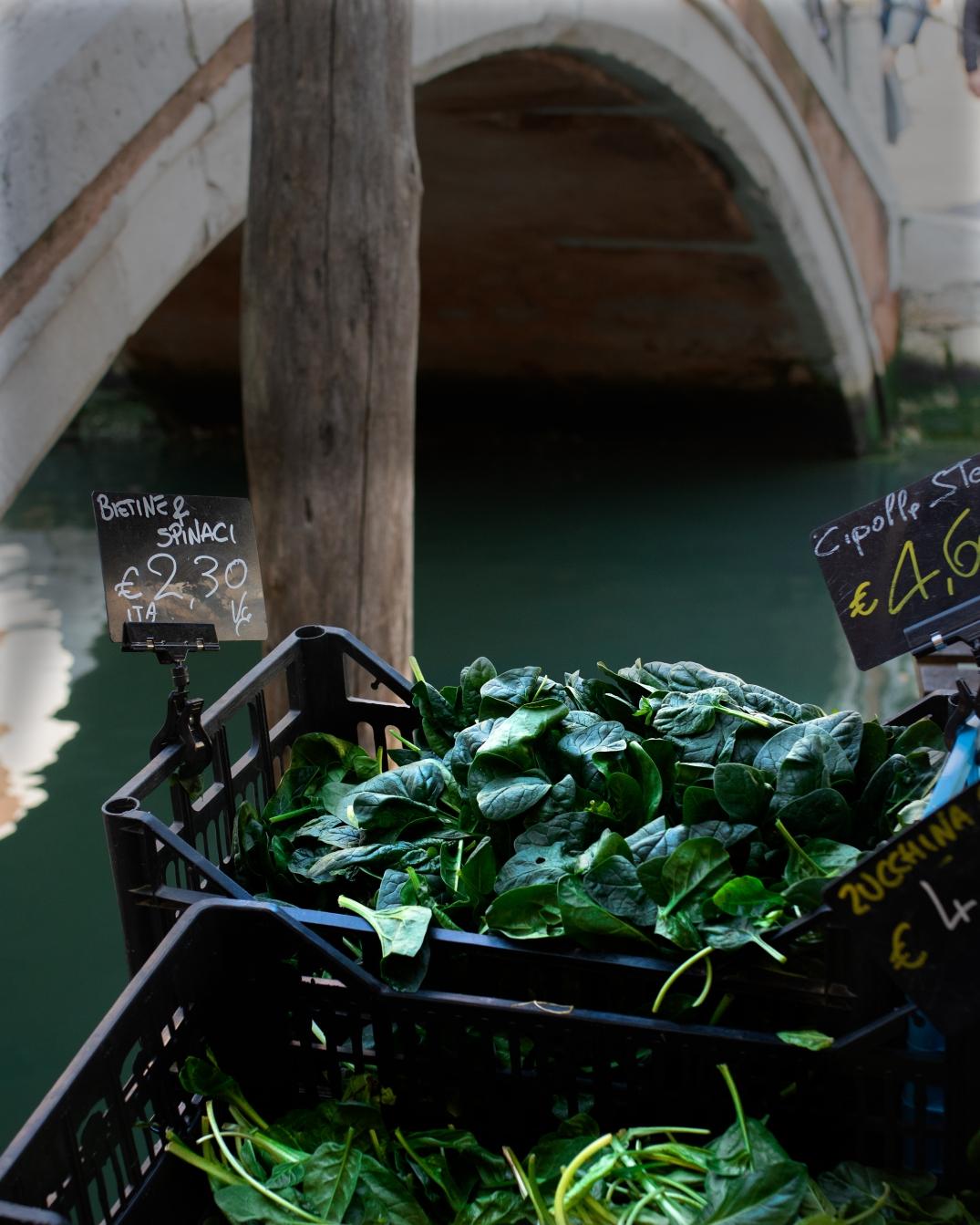 venedig spinat markt