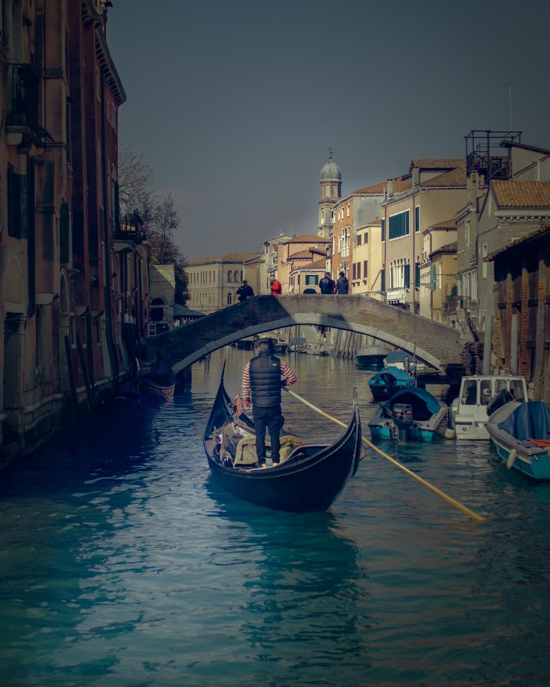 venezia märz 19 gondel 2
