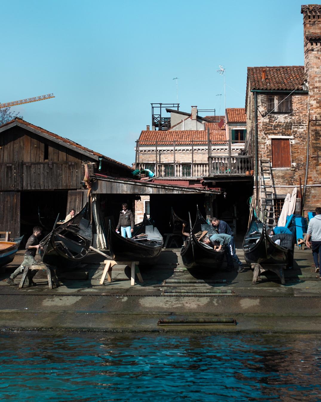 venezia squero